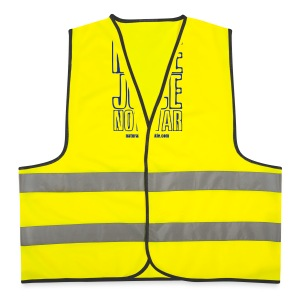 NJJ Hoodie (Mens - Make Juice Not War) - Reflective Vest