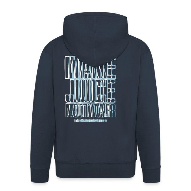 NJJ Hoodie (Mens - Make Juice Not War)