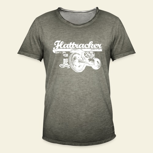 Retro Rock-a-billy - Herre vintage T-shirt