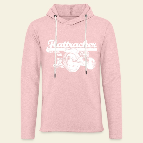 Retro Rock-a-billy - Let sweatshirt med hætte, unisex