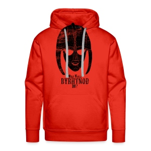 What would Byrhtnoth do? Men's Shirt - Men's Premium Hoodie