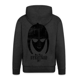 What would Byrhtnoth do? Men's Shirt - Men's Premium Hooded Jacket