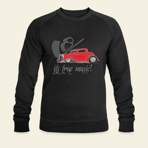 V8 - it's true music - Økologisk Stanley & Stella sweatshirt til herrer