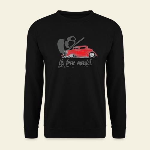 V8 - it's true music - Herre sweater