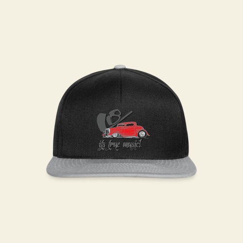 V8 - it's true music - Snapback Cap
