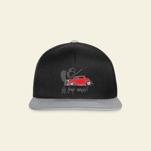 V8 - it's true music - Snapback Cap