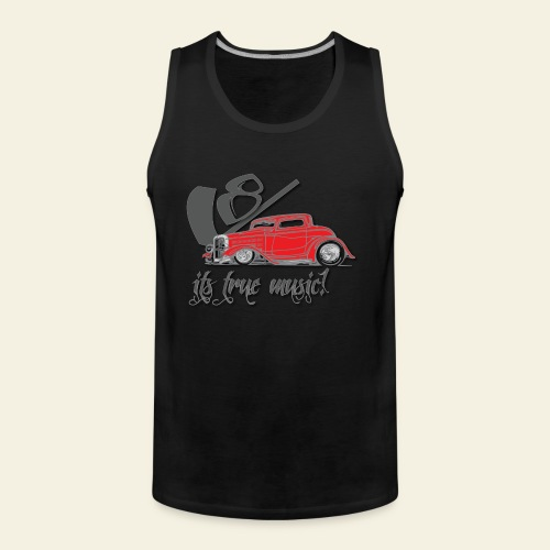 V8 - it's true music - Herre Premium tanktop