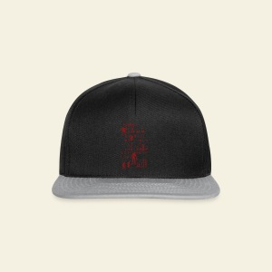 Zombie when hell is full - Snapback Cap