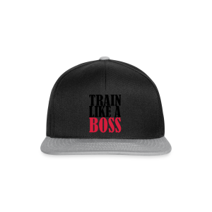 Train Like a Boss Frontprint  - Snapback Cap