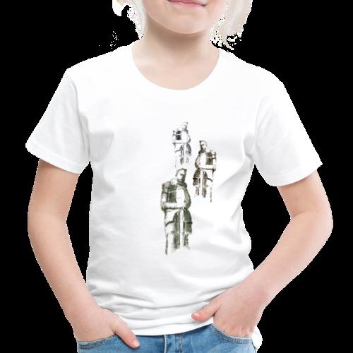 Krieger vom Völkerschlachtdenkmal - Kinder Premium T-Shirt