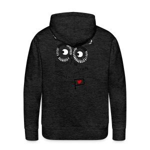 Owl - miss my soldier - Männer Premium Hoodie
