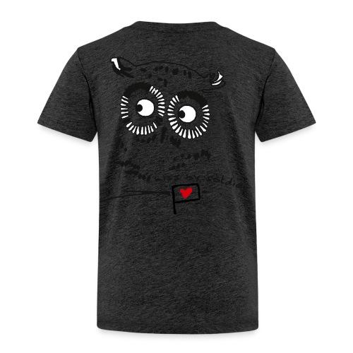 Owl - miss my soldier - Kinder Premium T-Shirt