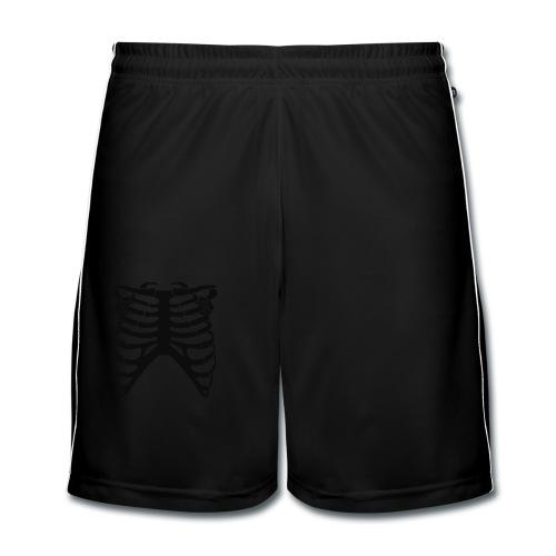 Ribcage Black - Pantaloncini da calcio uomo