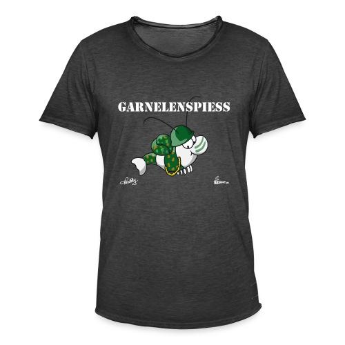 Garnelenspieß - Männer Vintage T-Shirt