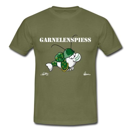 Garnelenspieß - Männer T-Shirt