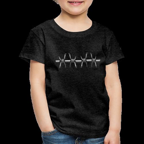 Männer T- Shirt Stacheldraht - Kinder Premium T-Shirt