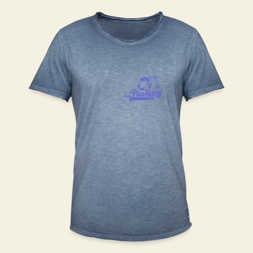 Retro  Piano  - Herre vintage T-shirt