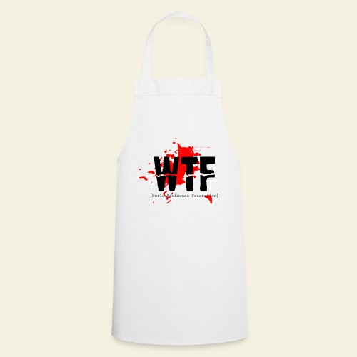 WTF World Taekwondo Federation RED  - Forklæde