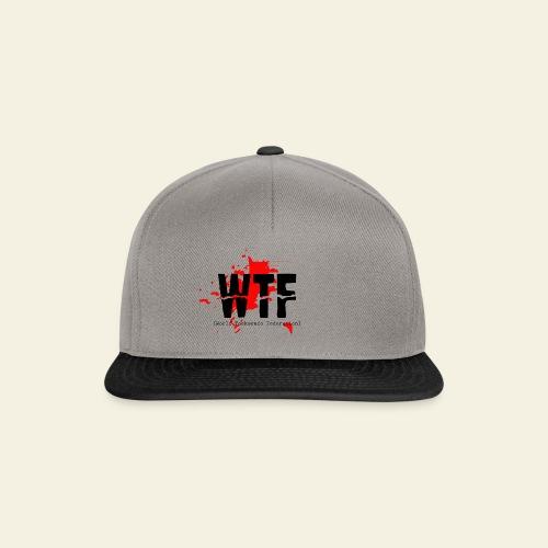 WTF World Taekwondo Federation RED  - Snapback Cap