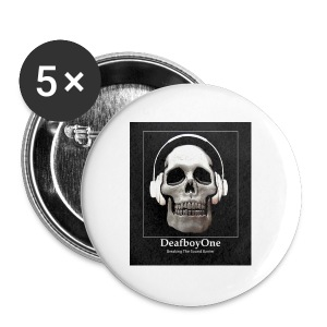DeafboyOne - Breaking the sound barrier - Buttons large 56 mm