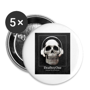 DeafboyOne - Breaking the sound barrier - Buttons small 25 mm