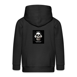 DeafboyOne - Breaking the sound barrier - Kids' Premium Zip Hoodie