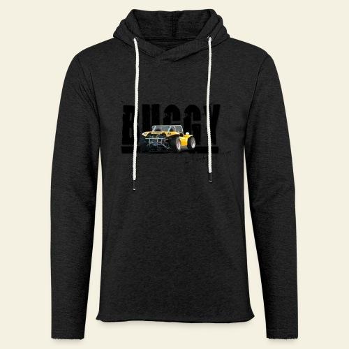 Buggy - Let sweatshirt med hætte, unisex