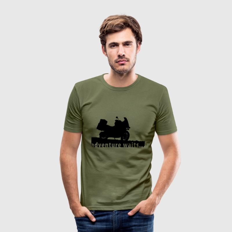BMW adventure t-shirt... - slim fit T-shirt