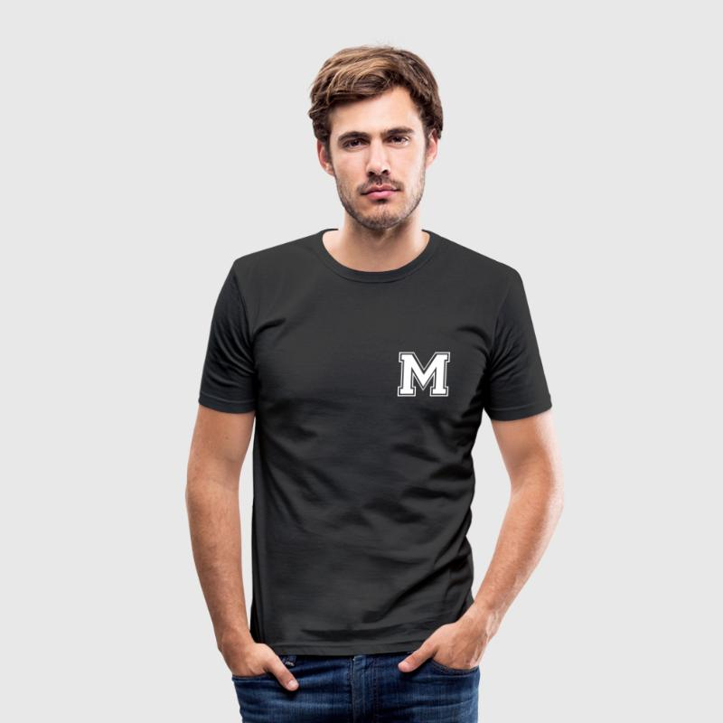 m T-Shirts - Männer Slim Fit T-Shirt