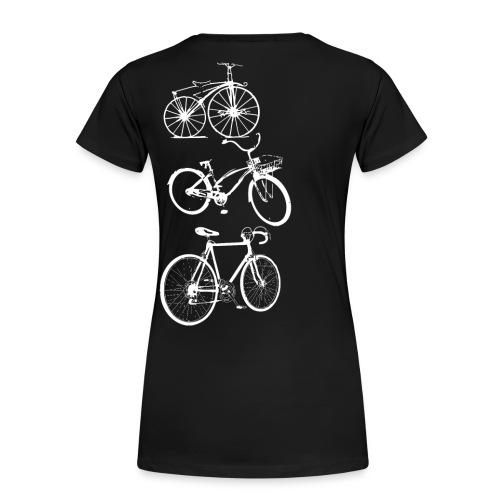 Bikebikebike - Frauen Premium T-Shirt