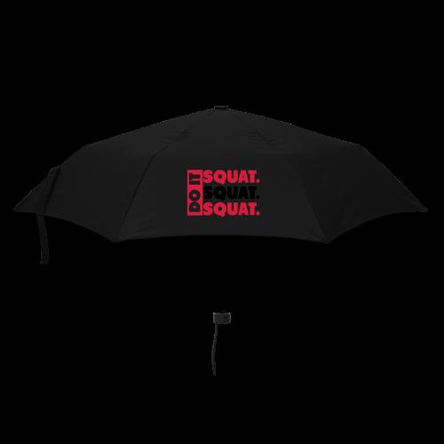 Squat, Squat, Squat - Regenschirm (klein)
