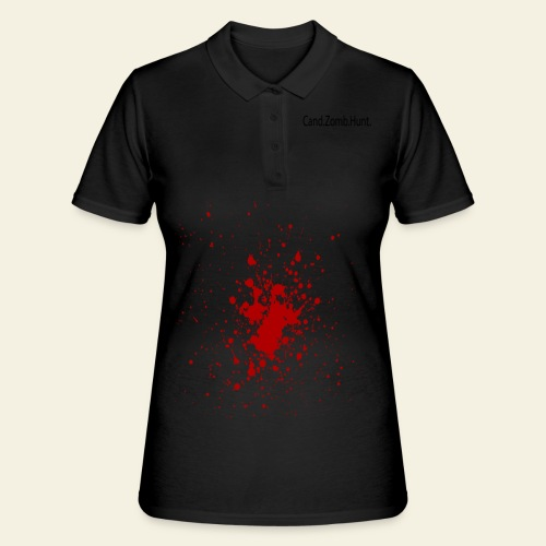 Cand. Zomb. Hunt - Response Team - Women's Polo Shirt