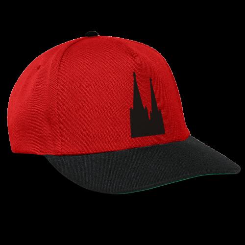 Kölner Dom (Weiß) Köln Design - Snapback Cap