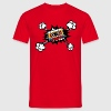 Retro cassette, tape, comic style, pop art, music T-Shirts - Men's T-Shirt