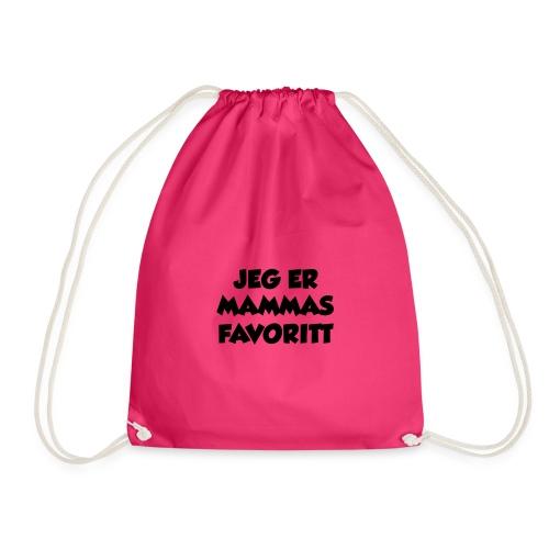 «Jeg er mammas favoritt» - Gymbag