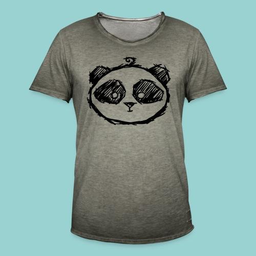 baby panda - Männer Vintage T-Shirt