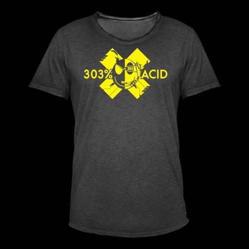 LOGO ACIDTEKNO V2 - Men's Vintage T-Shirt
