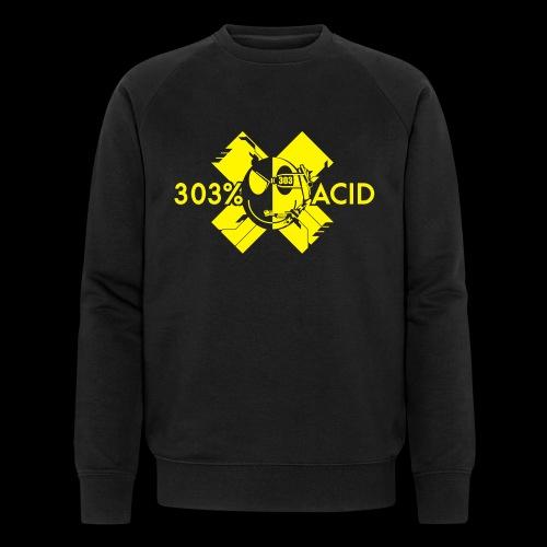 LOGO ACIDTEKNO V2 - Men's Organic Sweatshirt by Stanley & Stella