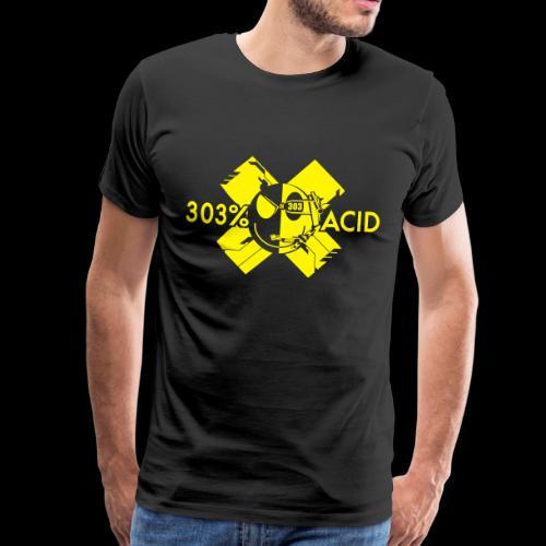 LOGO ACIDTEKNO V2 - Men's Premium T-Shirt