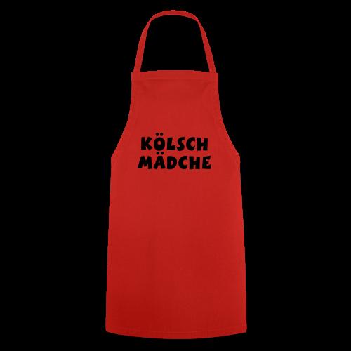 Kölsch Mädche met Ö un Ä (Weiß) S-3XL T-Shirt - Kochschürze