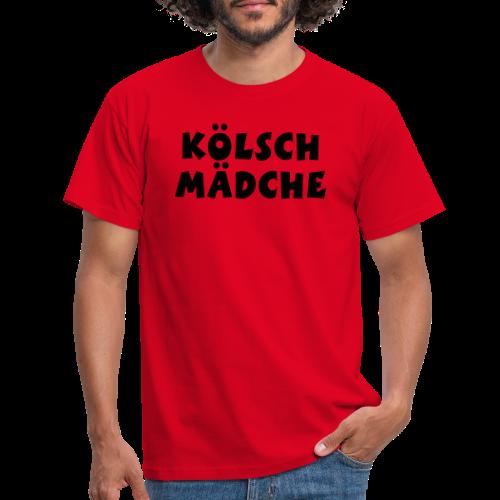 Kölsch Mädche met Ö un Ä (Weiß) S-3XL T-Shirt - Männer T-Shirt