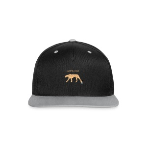 graceful like a cheetah -  FrauenPullover Frontd - Kontrast Snapback Cap