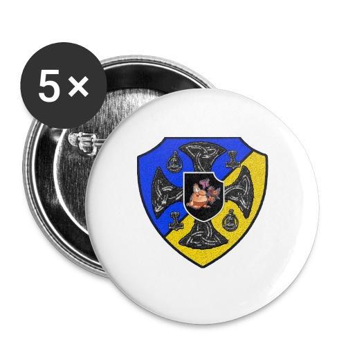 SVJR Ryggsäck - Mellanstora knappar 32 mm