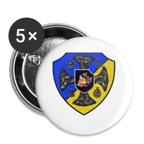 SVJR Ryggsäck - Små knappar 25 mm