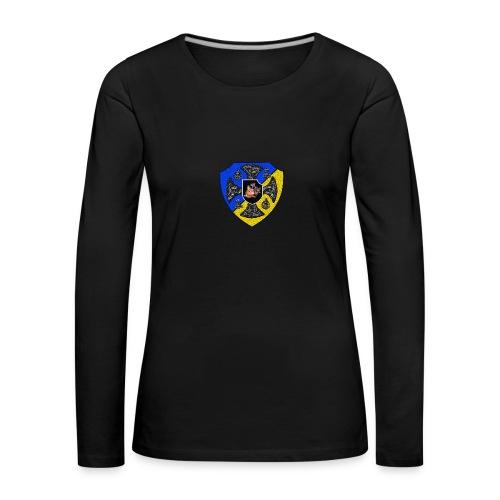 SVJR Ryggsäck - Långärmad premium-T-shirt dam