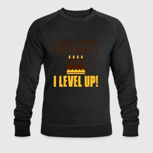 I don't have birthdays - I level up! Tanktoppar - Sweatshirt herr från Stanley & Stella