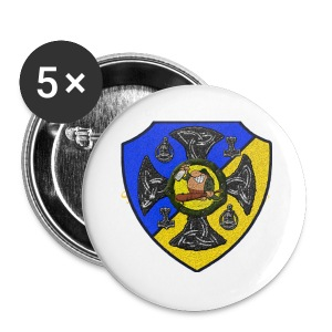 Sv Musmatta - Små knappar 25 mm