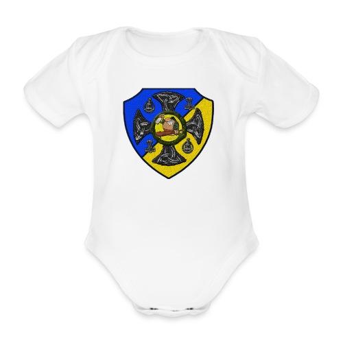 Sv Musmatta - Ekologisk kortärmad babybody
