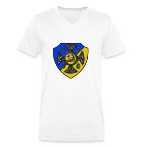 Sv Musmatta - Ekologisk T-shirt med V-ringning herr från Stanley & Stella
