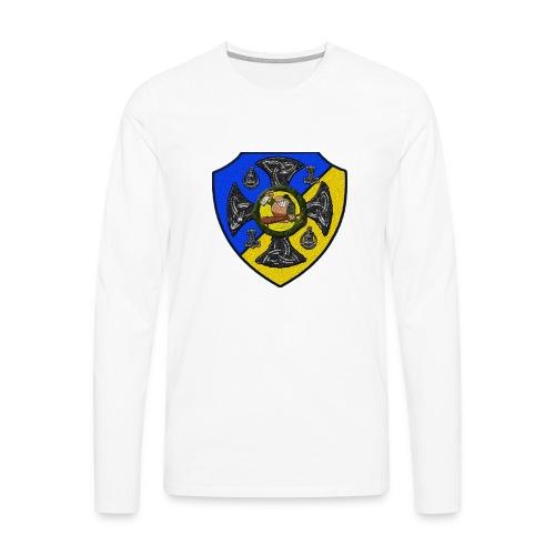 Sv Musmatta - Långärmad premium-T-shirt herr